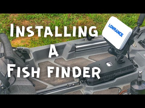 Mounting a Fish Finder on a Fishing Kayak - Bonafide SS127 Dry Pack