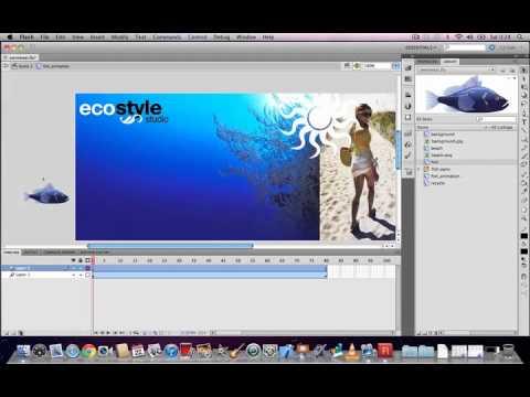 Flash CS5.5 Animation Tutorial - Creating Lifelike Motion