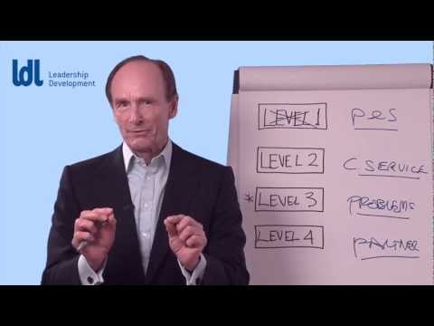 Sales Training - The 4 levels of sales effectiveness. LDL.