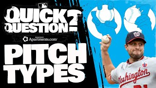What is the difference between pitches? And why are there so many?   Quick Question (MLB Originals)