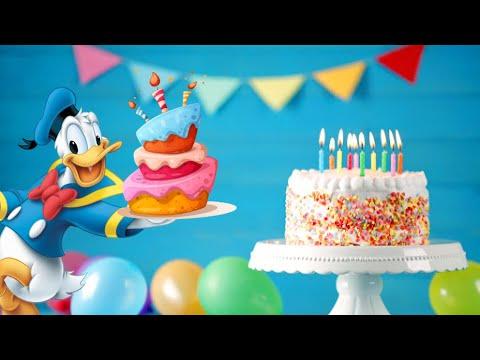 Donald Duck Voice Singing - Happy Birthday