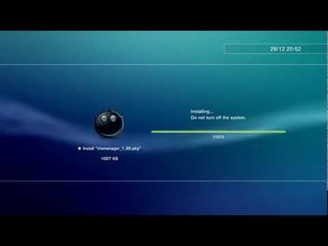 InstallPKG - Install Package Files for Rogero 4.30 v1.0 CFW - PS3 Homebrew