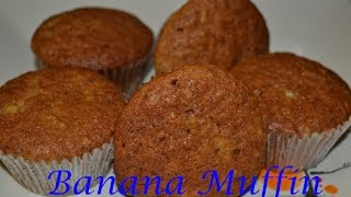 Banana Muffin Filipino Version