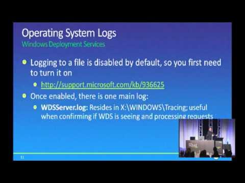 Tech·Ed New Zealand 2010 Troubleshooting Windows 7 Deployments