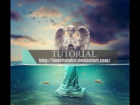 Photoshop Manipulation Tutorial - UnderWater Life - (Part 1)