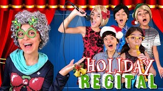 Types of Singers - Kids School Holiday Recital - Funny Skits // GEM Sisters