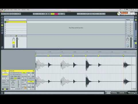 How to Make Dubstep part 1/5 - Beat Warping in Ableton