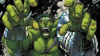 Worldbreaker Hulk vs Iron Man's Hulkbuster (World War Hulk Vol 1: Homecoming)