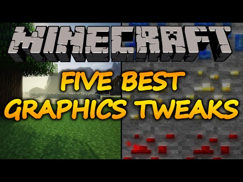 Minecraft - Five Ways to Make Your Game Look Amazing 1.8