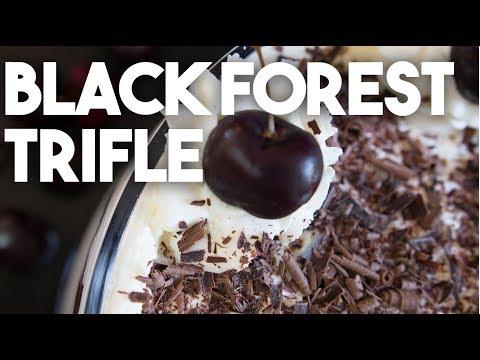 BLACK FOREST Trifle | Quick & Easy Dessert | Kravings