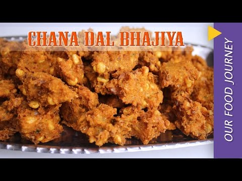 Chana dal bhajiya  recipe