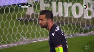 Golo de Fredy (GP): Belenenses (3)-3 Sporting (Liga 30ªJ)