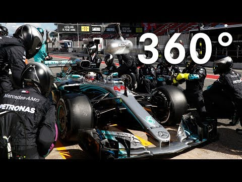 Full 360 Sensations of F1!