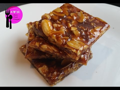 Ana's Food - How to Make Caramel & Mixed Nut Praline Bites