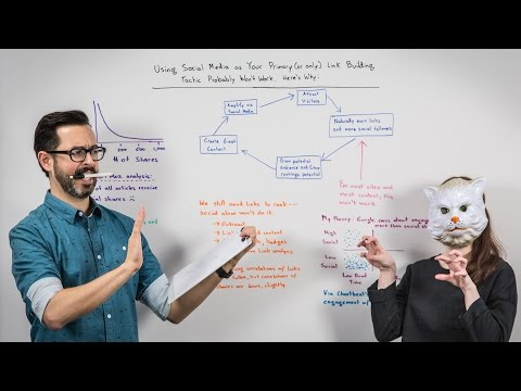 Using Social Media as Your Primary Link Building Tactic Probably Won't Work - Whiteboard Friday