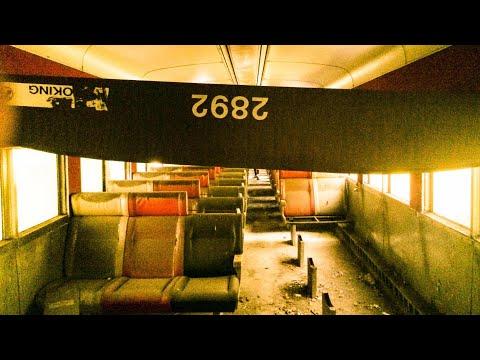 Exploring an Abandoned Train; Long Island Railroad