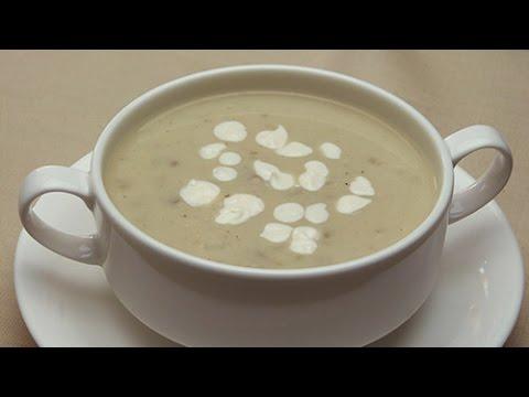 Easy Turkish Cream of Mushroom Soup Recipe