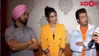 Diljit Dosanjh, Kriti Sanon and Varun Sharma on their film Arjun Patiala | Exclusive Interview