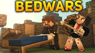 Minecraft BedWars #70 - Новогодний БЕДВАРС
