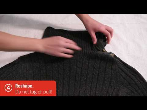 How to Dry a Sweater