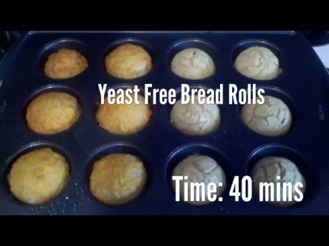 Yeast Free Bread Rolls Recipe
