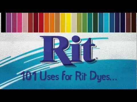 101 Uses for RIT Dye - RIT Dye Buttons