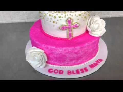 Cake for a baby girl at Di Bella