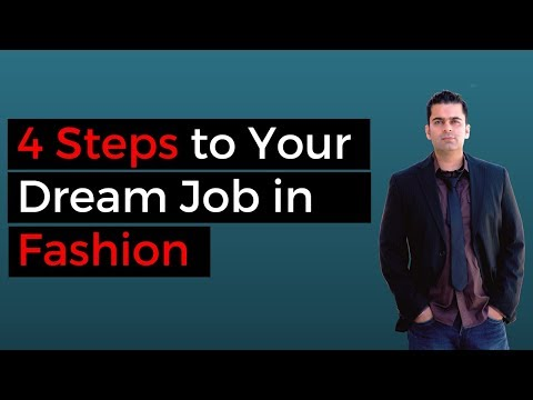 How To Get a Job in Fashion Company (4 STEP PROCESS)