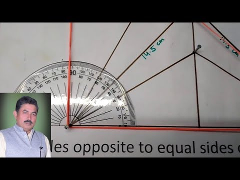 Model of inequalities in a triangle class 9 CBSE - ideal maths lab with models and projects