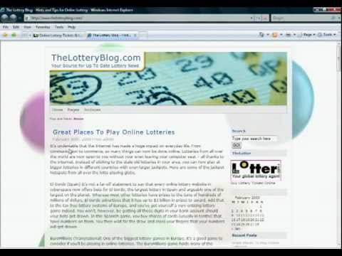 Can You Buy A Lottery Ticket Online