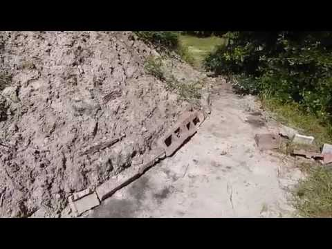 Private Shooting Range Berm 3 Month Update Back