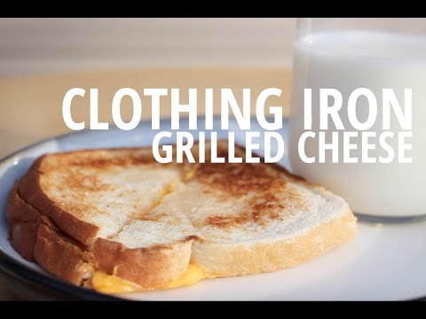 How to Make Grilled Cheese with a Clothing Iron