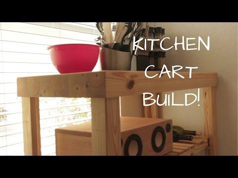 DIY KITCHEN CART - GENIUS HOME DESIGN - BUILD VIDEO