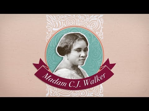 Madam C.J. Walker : entrepreneure autodidacte