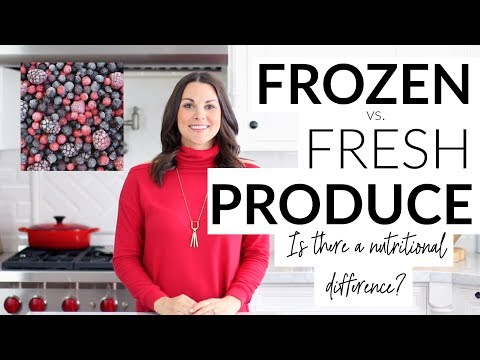 Frozen vs. Fresh Produce - Is There A Nutritional Difference?