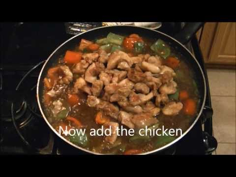 Chicken and Peppers Stir Fry