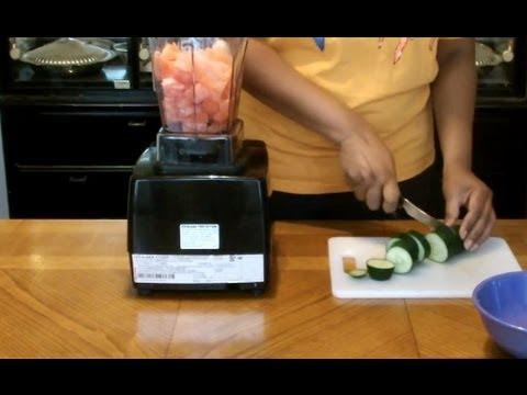Vitamix Recipes - Cucumber Watermelon Smoothie
