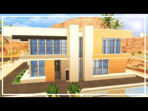 MODERN HOUSE SIMS 4 | Speed Build part 1