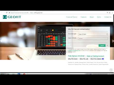 How to Login Geojit Trading Portal