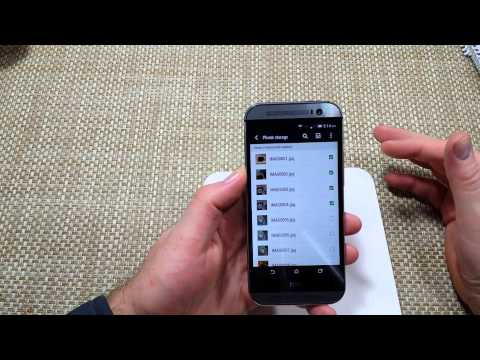 HTC One (M8) How to Copy Move or transfer Files Photos Videos Music to your SD Memory Card M8