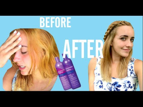 DIY : ORANGE/BRASSY HAIR FIX | | How to fix Brassy hair after bleaching