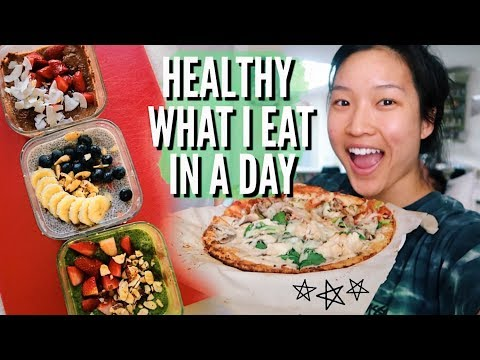 WHAT I EAT IN A DAY // Healthy + Simple Meals!