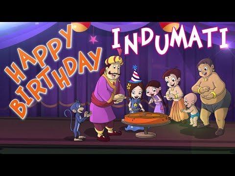 Chhota Bheem - Indumati's Birthday Special Video #BirthdaySpecialVideo