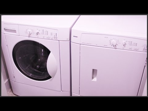 Removing The Old Washer & Dryer