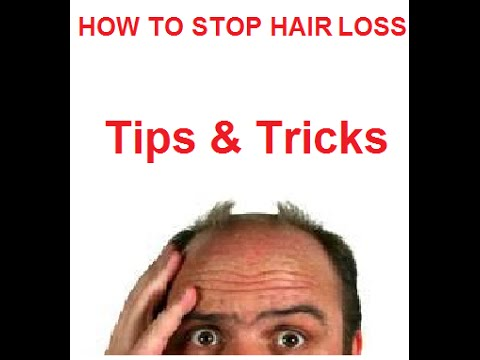 How to Stop Hair Loss Tips & Tricks