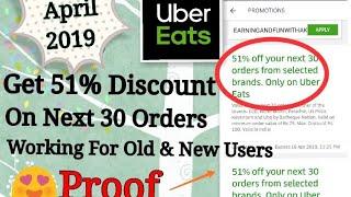 Uber eats New PROMO code April 31th 2019 [GR GAMING ANDRO