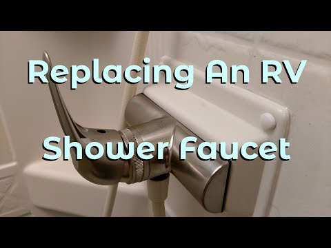 RV Shower Faucet Replacement