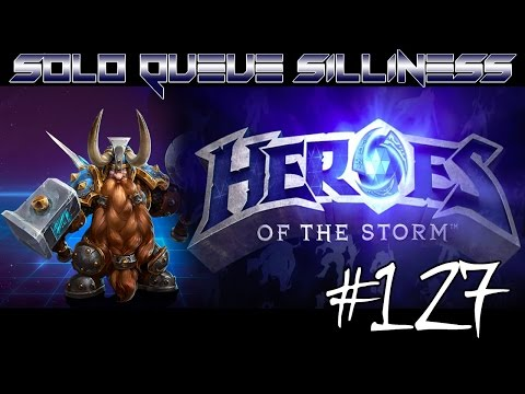 SOLO QUEUE SILLINESS #127 - OUTTA M'WAY! [HEROES OF THE STORM HD]
