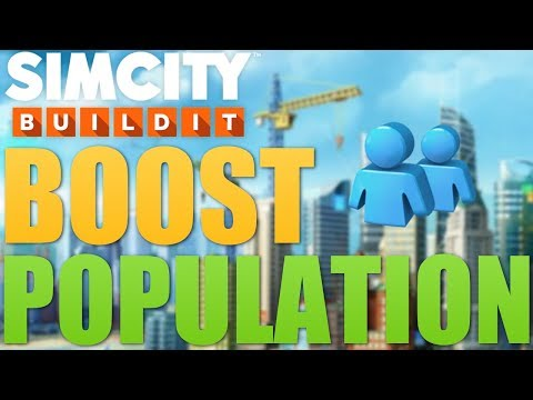 SimCity Buildit | How To Boost Population