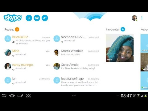 Add People On Skype With Skype ID [Android]